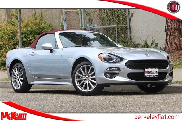 New 2018 Fiat 124 Spider Lusso Convertible In Berkeley J0139925