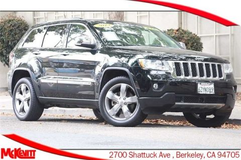 Pre-Owned 2013 Jeep Grand Cherokee Overland